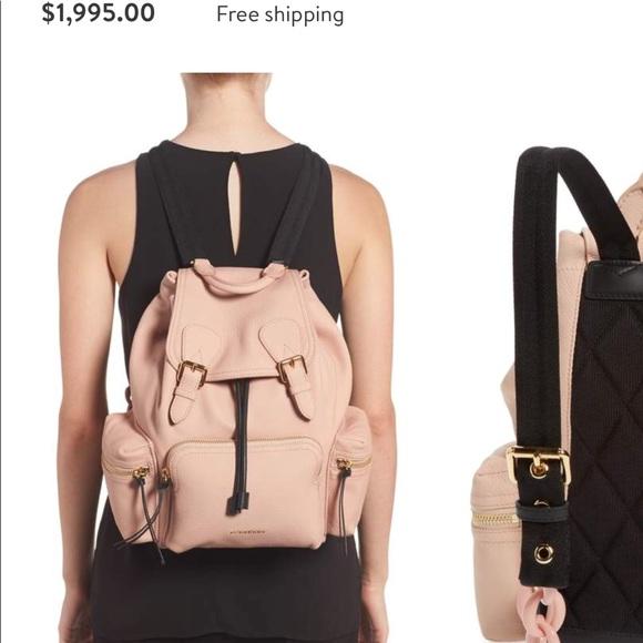 36e63b5e23 Burberry Bags | Authentic Pink Medium Rucksack Backpack | Poshmark
